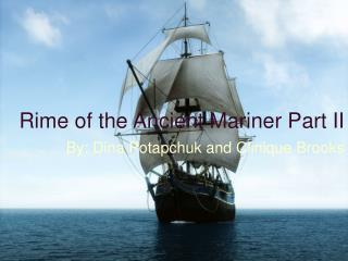 Rime of the Ancient Mariner Part II