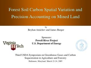 Forest Soil Carbon Spatial Variation and Precision Accounting on Mined Land