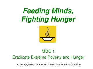Feeding Minds, Fighting Hunger