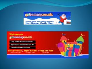 Rochdale bouncy castle