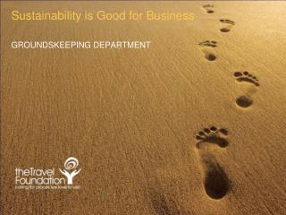 Sustainability is Good for Business