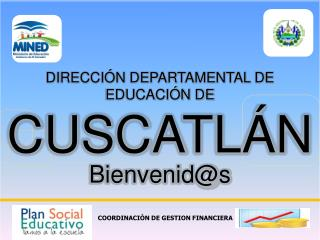 COORDINACI N DE GESTION FINANCIERA