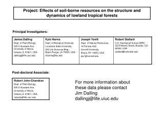 Principal Investigators: