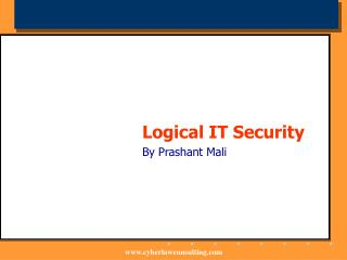 Logical IT Security By Prashant Mali