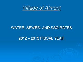 Village of Almont