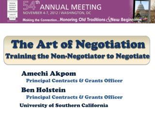 Training the Non-Negotiator to Negotiate