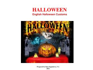 HALLOWEEN English Halloween Customs
