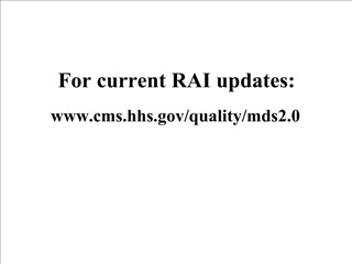 for current rai updates: