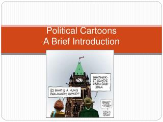 Political Cartoons A Brief Introduction