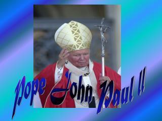 Pope John Paul ll