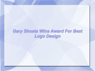 Gary Shoats Wins Award For Best Logo Design