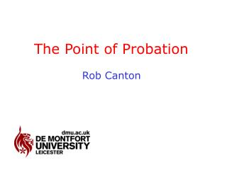 The Point of Probation