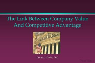 The Link Between Company Value And Competitive Advantage