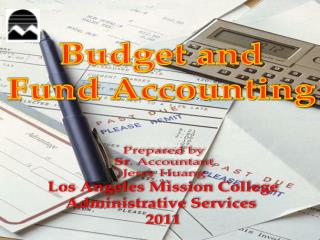 Budget and Fund Accounting