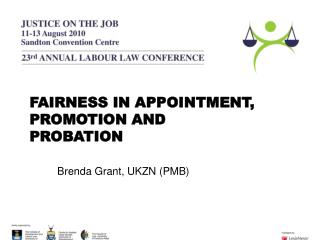 FAIRNESS IN APPOINTMENT, PROMOTION AND PROBATION