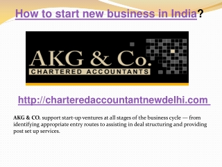 How to start new business in India