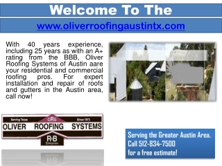 Commercial Roofing Contractor Austin- Metal Roofing - Tile Roof
