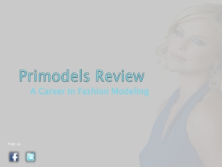Primodels Review-A Career In Fashion Modeling