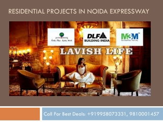Residential Projects in Noida Expressway
