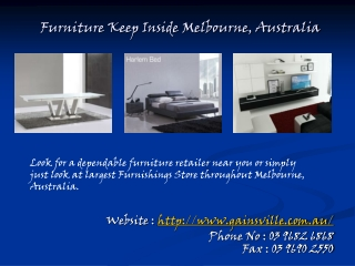 Best Designer Modern Furniture Stores in Melbourne, Australia