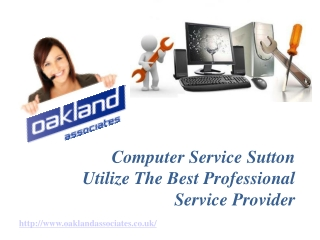 Computer Service Sutton Utilize The Best Professional Servic