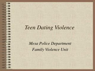 teenage dating allowed or not essay