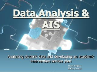 Data  Analysis & AIS