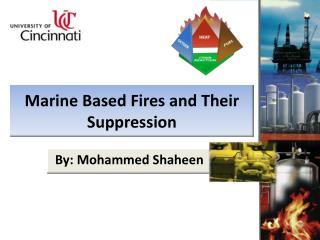 Marine Based Fires and Their  Suppression
