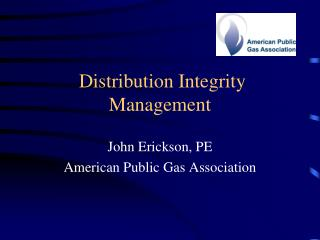 Distribution Integrity Management