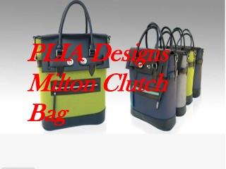 PLIA Designs Milton Clutch Bag