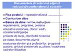 documentele directorului adjunct educativ