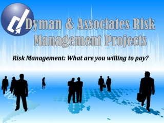 Dyman & Associates Risk Management Projects: What are you wi