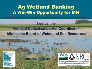 Ag Wetland Banking A Win-Win Opportunity for MN