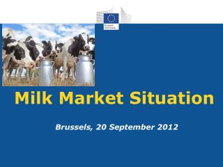 Milk Market Situation