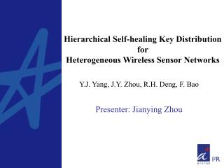 Hierarchical Self-healing Key Distribution for Heterogeneous Wireless Sensor Networks