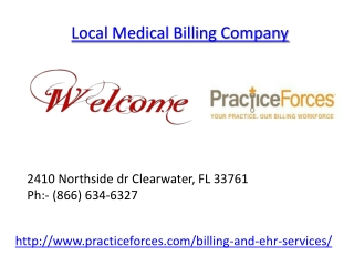 Local Medical Billing Company