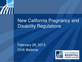 New California Pregnancy and Disability Regulations