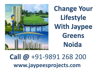 Your Dream Comes True With Jaypee Green Noida