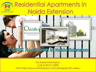 Available amrapali o2 valley apartments with best price