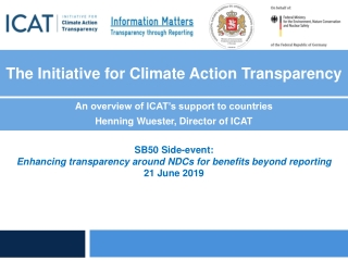 The Initiative for Climate Action Transparency