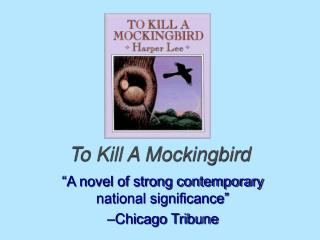 explain the significance of the mockingbird in Mocking birds are used throughout the novel to represent innocence miss maudie explains this to scout scout is surprised to hear non-judgemental atticus calling anything a sin she asks miss maudie why atticus has said it is wrong and she replies with the explanation, 'mockingbirds don't do one.