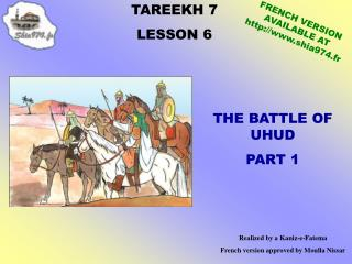 TAREEKH 7 LE SSON 6