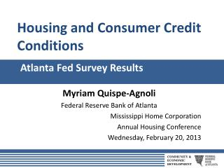 Atlanta Fed Survey Results