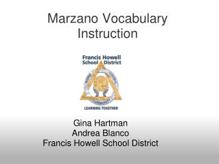 Marzano Vocabulary Instruction