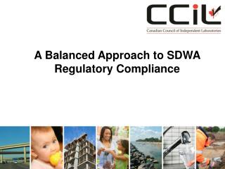 A Balanced Approach to SDWA Regulatory Compliance