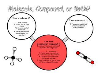 Molecule, Compound, or Both?