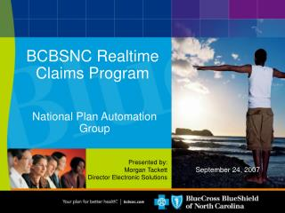 BCBSNC Realtime Claims Program