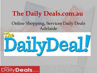 Shopping Daily Deals Adelaide