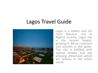 Lagos Travel Guide