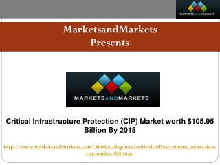 Critical Infrastructure Protection (CIP) Market worth $105.9